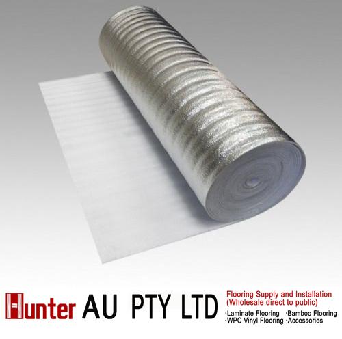 3mm Silver Underlay For Laminate Floor Bamboo Floor